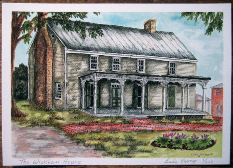 Wickham House Color Print 5 x 7""